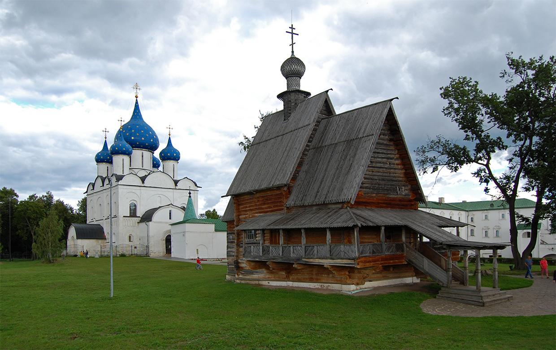 Image result for деревянной Никольской церковью суздаль